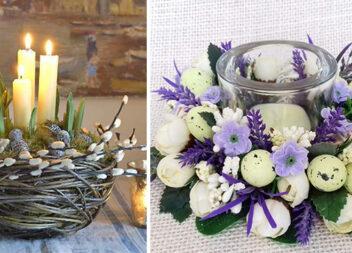 Декоруємо свічку до Великодня (21 фото ідея)