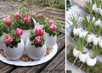 Ідеї декору із яєчної шкарлупи