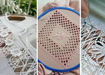 Мережка - неймовірна техніка вишивання із витягуванням ниток