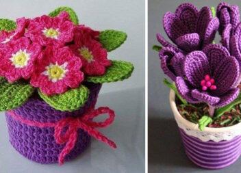 В'яжемо рослини у вазонах: 23 неймовірні ідеї