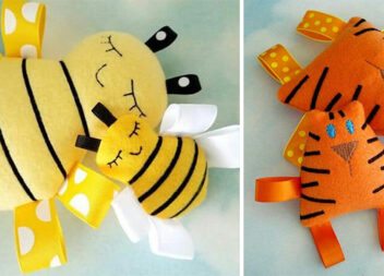 М'якенькі притулянки: шиємо іграшки для немовлят самотужки