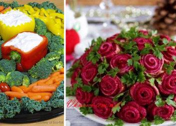 Красиві страви на святковому столі