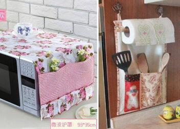 Текстиль на кухні: варіанти використання тканинних виробів (45 ідей)