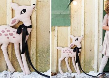 Як зробити м'яку іграшку оленятко Бембі