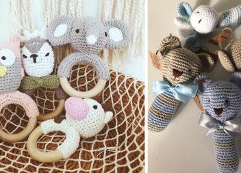 25 в'язаних іграшок для немовлят, які можна виготовити самотужки