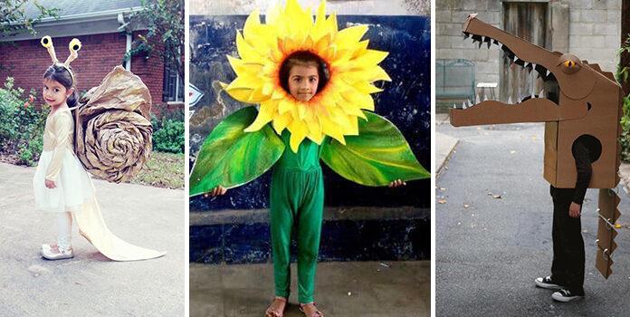 Цікаві та оригінальні дитячі костюми, які можна зробити самотужки