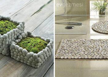 Вироби із камінців в оформленні інтер'єру оселі. Ідеї та майстер-класи