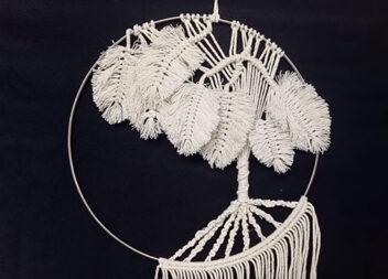 Ефектне панно зі звичайної мотузки: техніка, яку освоїть навіть новачок