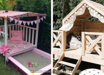 Створюємо дитячий ігровий будиночок самотужки: 70 ідей