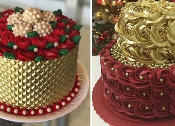 Оформляємо торти золотом: 13 красивих кондитерських ідей