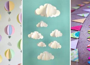 Креативні гірлянди із паперу. Декоруємо оселю самотужки (35  фото)