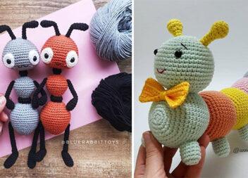 Креативні іграшки із в'язаних кульок