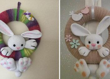 В'язані віночки: красиві композиції гачком для дитячої кімнати