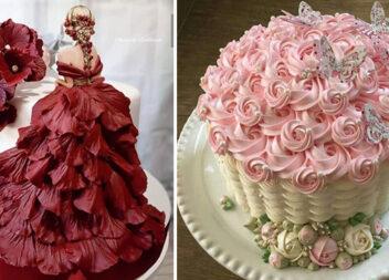 35 святкових тортів нестандартної форми