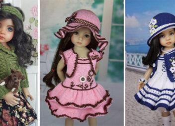 Одягаємо улюблену ляльку в стильні вбрання, виготовлені власноруч