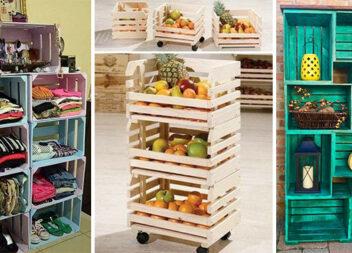 Практичний декор із дерев'яних ящиків: 27 ідей