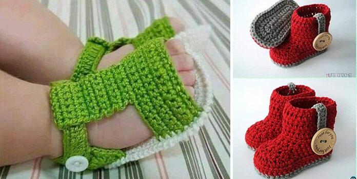 Виготовляємо дитяче взуття власними руками. Ідеї для в'язання