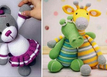 В'язані тваринки: круті іграшки для дитини (57 ідей для натхнення)
