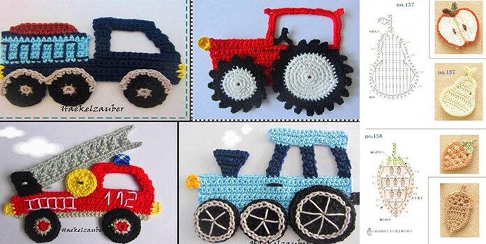 Аплікації гачком: схеми, відео майстер-класи та різні моделі для декору дитячого одягу