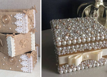 Декоративні ящики для зберігання дрібниць своїми руками