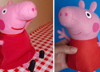 Шиємо свинку Пеппу з фетру чи флісу. Викрійки і покрокові майстер-класи