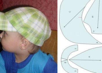 Шиємо дитячу кепку на літо. Майстер-клас