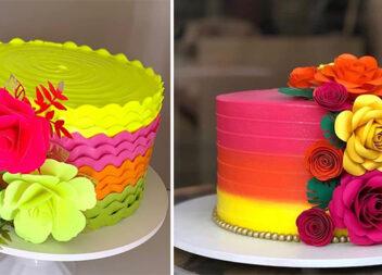 Яскраві тортики для яскравих людей!