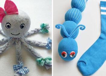 Робимо іграшки із дитячого одягу . Невелика добірка ідей та майстер-класів