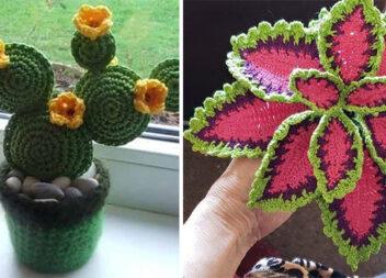 Креативне рукоділля: квіти та вазони із ниток та бісеру (21 ідея)