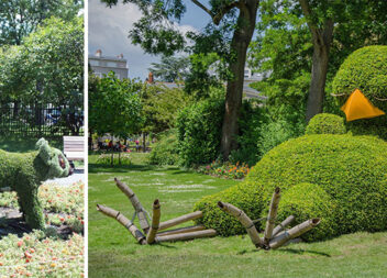 Фантастичні садові фігури або як красиво оформити сад
