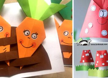 Творимо з паперу в техніці орігамі. 11 майстер-класів для творчості із дітьми