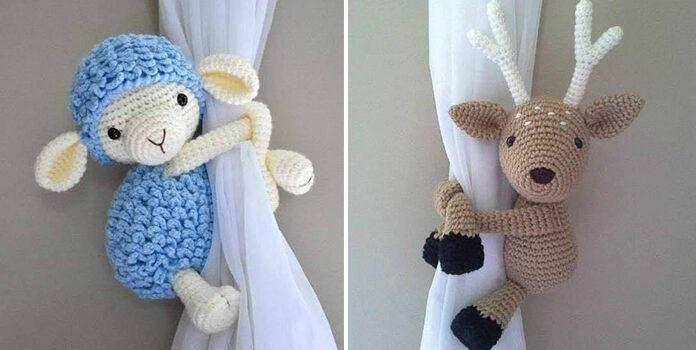 Фантастичні підхвати для штор в дитячу кімнату