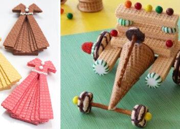 Створюємо їстівні предмети із солодощів. Цікаві рішення для дитячого свята
