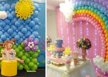 50 способів красиво оформити свято повітряними кульками