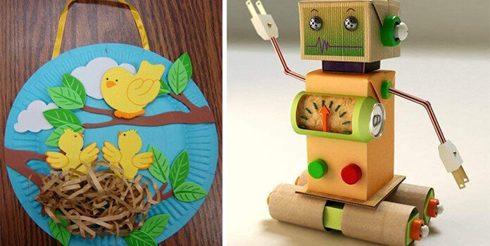 Цікаві вироби із матеріалів, що знайдуться у кожного вдома. 50 ідей