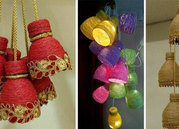 Дзвіночки та світильники-гірлянди із пластикових пляшок