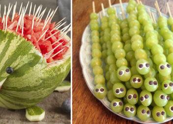 Цікаві фрукти: вирізаємо та прикрашаємо страви