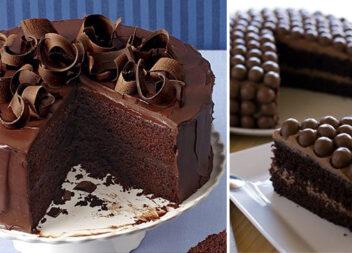 Шоколадний мінімалізм: прикрашаємо торти елементами із шоколаду