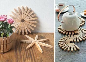 А ви знали, що дерев'яні прищіпки можна використати не тільки за призначенням?!