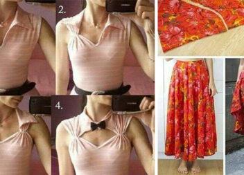 Як перешити одяг, створивши із нього нову річ