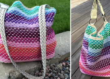 Оригінальний спосіб в'язання сумки гачком по мотузці. Майстер-клас