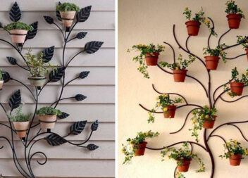 Як красиво розмістити зовнішні вазони із рослинами