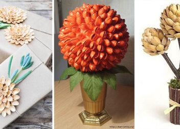 Із фісташкової шкаралупи виходять дивовижні квіти і не тільки... Майстер-класи та ідеї