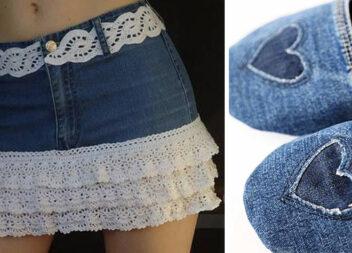 Що можна пошити зі старих джинсів. Добірка ідей для натхнення + викрійки