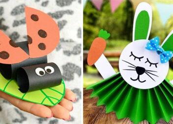 Літня паперова творчість: 23 ідеї для розваг із дітьми