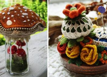 Чарівні голківниці із фетру та блискавки: 25 виробів, які захоче мати кожна рукодільниця!
