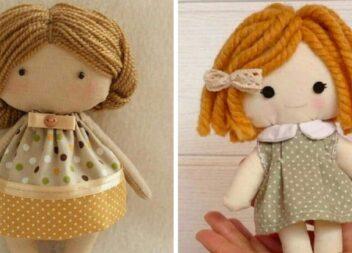 Ляльки handmade - милі іграшки, які можна зробити самотужки