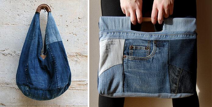 Неймовірні джинсові сумки зі старих речей (ідеї та майстер-класи)
