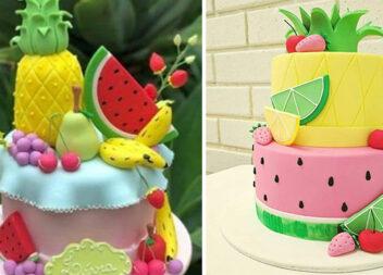 Яскраві літні тортики: 12 святкових ідей