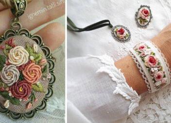 Мікровишивка в прикрасах: модні аксесуари своїми руками